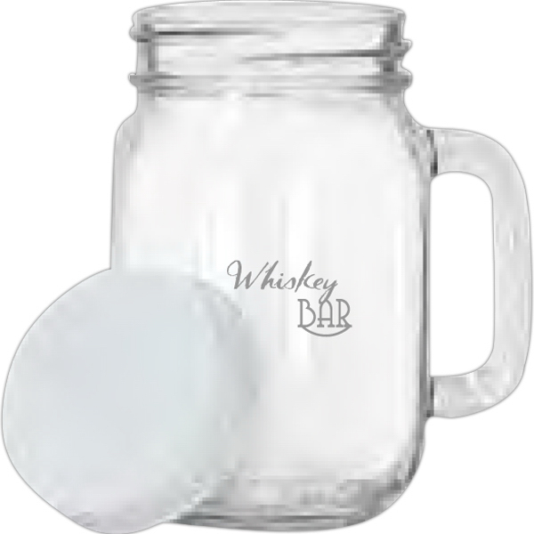 Promotional 16 oz Handled Jar
