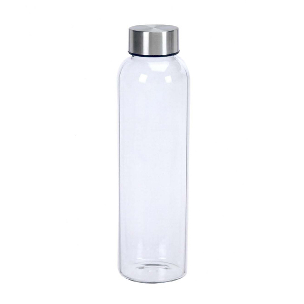 Imprinted Single Wall Glass Bottle
