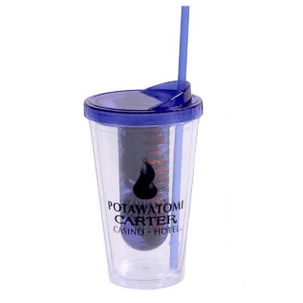 Customized 16 oz Double Wall Infusion Tumbler