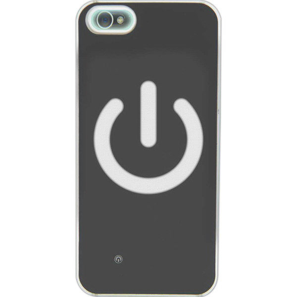 Imprinted I-Clegg LED Case for iPhone(R)