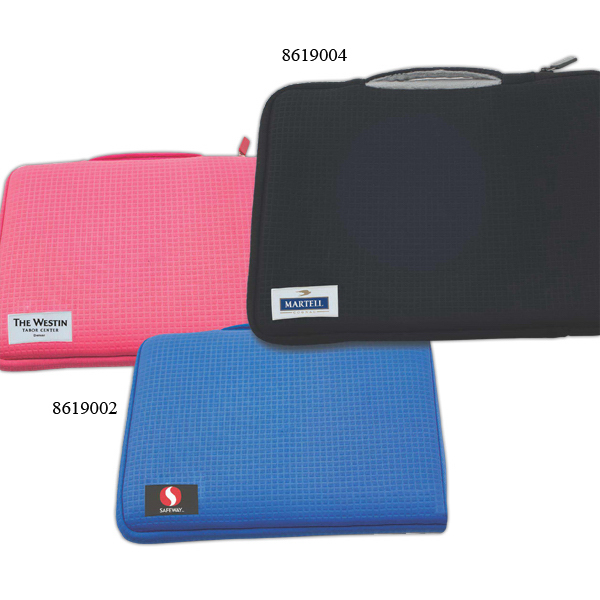 Personalized Deluxe Just-In-Case Laptop/Tablet Sleeve with Handle