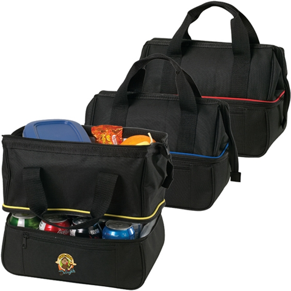 Promotional 18 Can Pipeline Cooler Bag