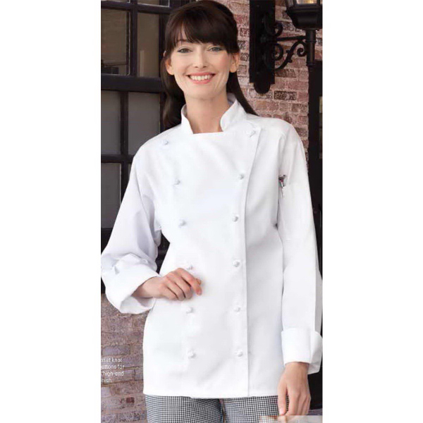 Promotional Mirage Chef Coat - White