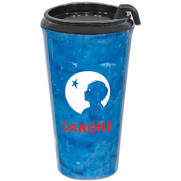 Personalized 16 oz. Marble Infinity Tumbler