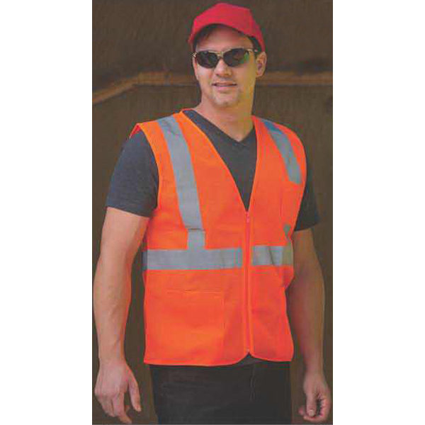 Printed Safety Vest w/ Pockets