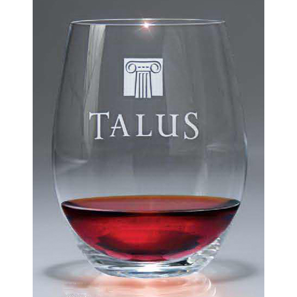 21 1/8 oz. Stemless Cabernet-Merlot Wine Glass