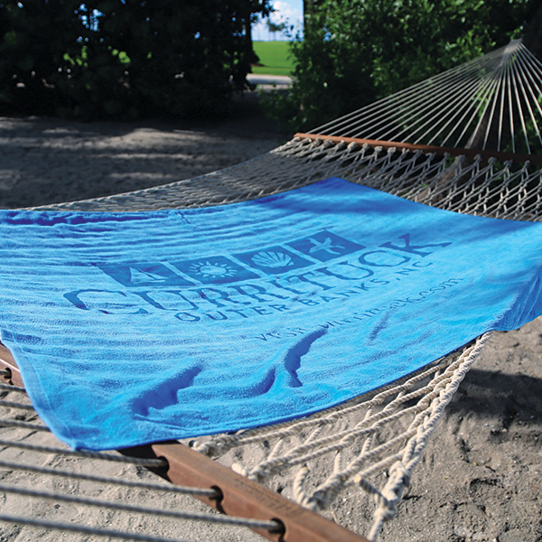 Printed Oversized Colored Beach Towel