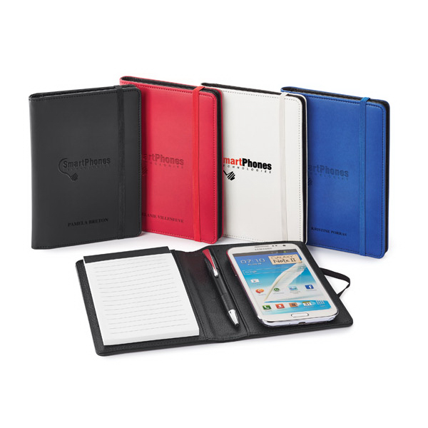Imprinted Donald Smartphone Holder/ Jotter