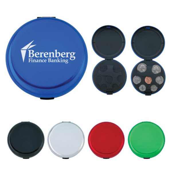 Promotional Aluminum coin holder