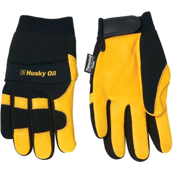 Customized Deerskin Palm with Thinsulate (R) Glove