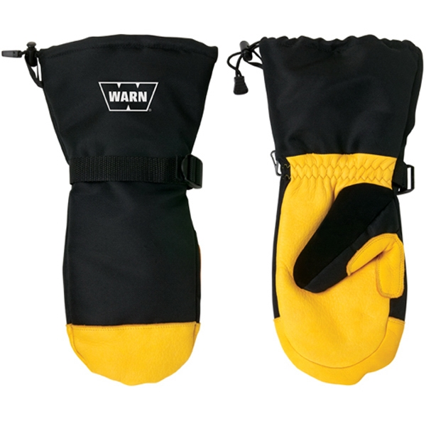 Customized Deerskin Winter Mitts With Thinsulate (R)