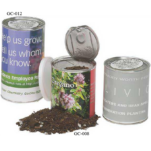 Personalized 12 oz. Garden Can