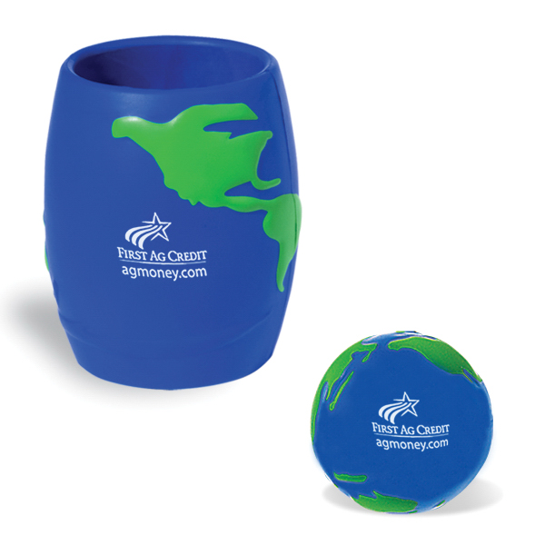 Global Ball in Can Holder Combo