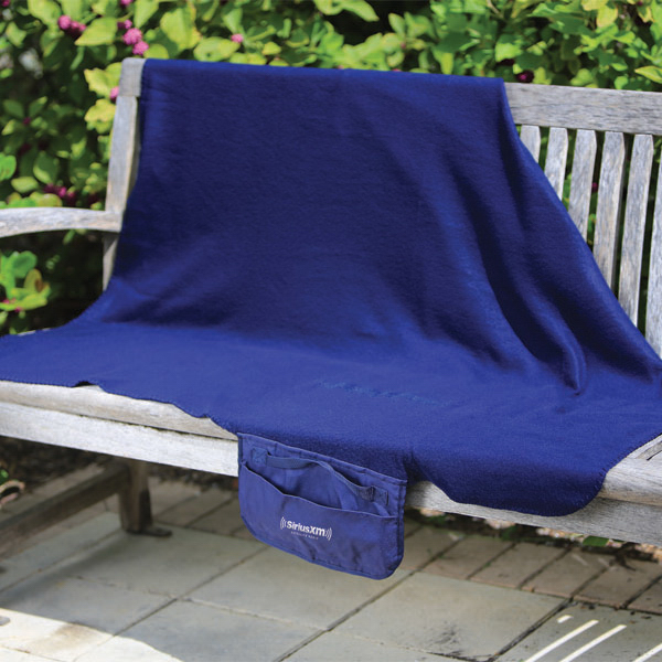 Roll-Up Lightweight Fleece Blanket