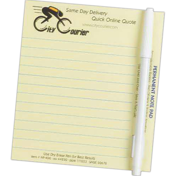 Imprinted Paperless Note Pad