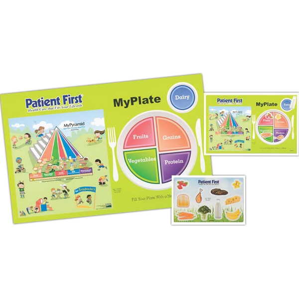Promotional My Plate Healthy Eating Placemat