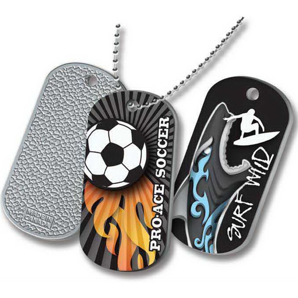 Photo Finish Dog tag