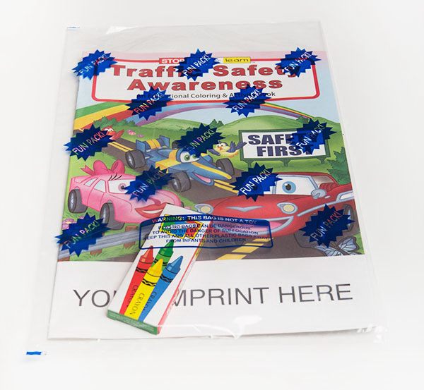 Custom Coloring Book Fun Pack