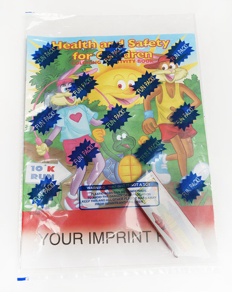 Printed Coloring Book Fun Pack