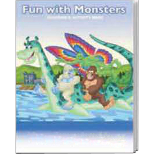 Promotional Coloring Book Fun Pack