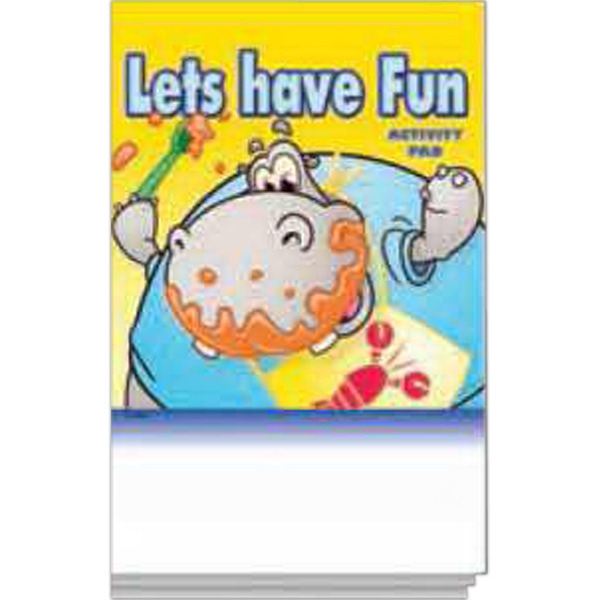 Promotional Activity Pad Fun Pack