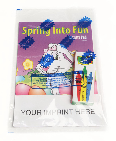Personalized Activity Pad Fun Pack