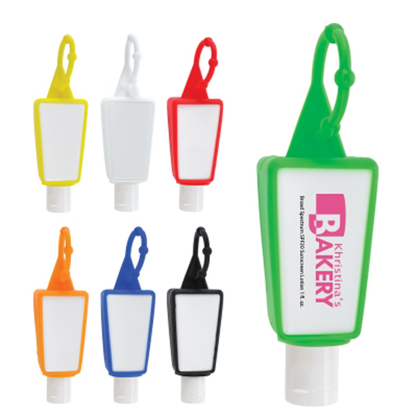 SPF 30 Sunscreen 1 oz. in silicone holder