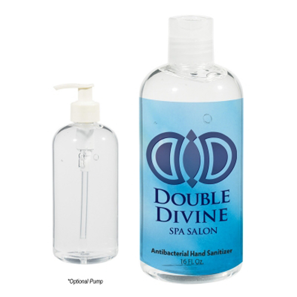 Promotional 16 oz. Hand Sanitizer Bottle