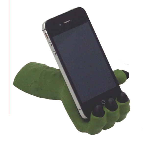 Monster Hand Phone Holder Squeezies (R) Stress Reliever