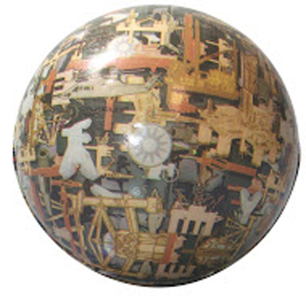 Squeezies (R) Oil Field Camo Ball Stress Reliever