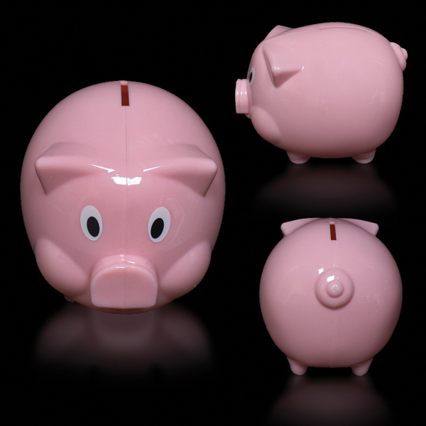 "Personalized 4"" Piggy Bank"