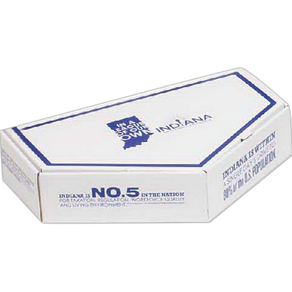 Imprinted E-Flute Box with Inside Tuck