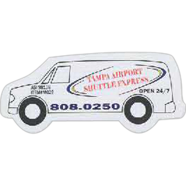 Personalized Van Shaped Magnet
