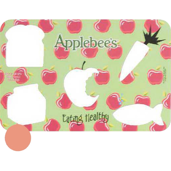 Personalized Healthy Eating Chipboard Stencil