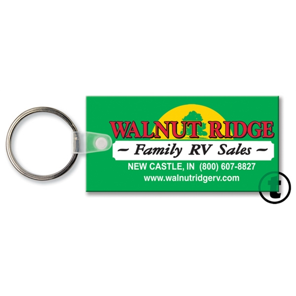 Customized Key Tag - Rectangle - Spot Color