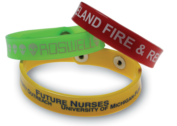 Printed Wristband - Bracelet - Spot Color