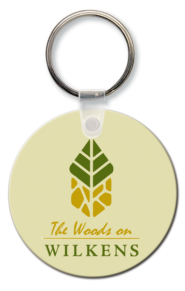 Customized Key Tag - Round - Spot Color