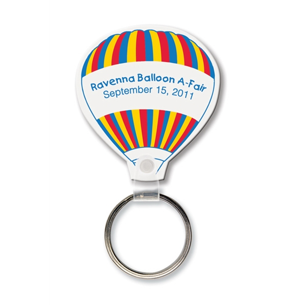 Custom Key Tag - Air Balloon - Spot Color