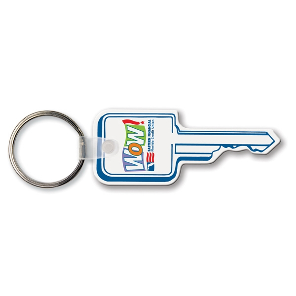 Custom Key Tag - Square Key Head - Spot Color
