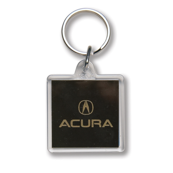 Customized Key Tag - Square - Full Color