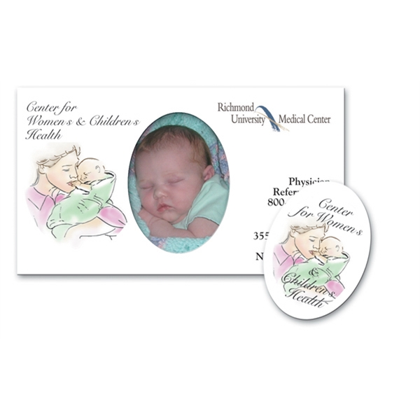 Printed Magnet 30 Mil - Rectangle Picture Frame - Full Color