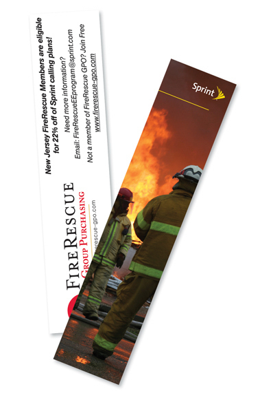 Imprinted Laminated Card Stock - Bookmark - Full Color