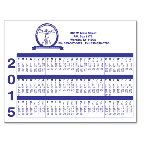Promotional Laminated Card Stock - Small Rectangle - Full Color