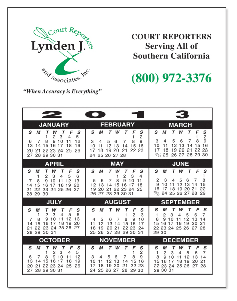 Printed Laminated Card Stock - Large Rectangle - Full Color