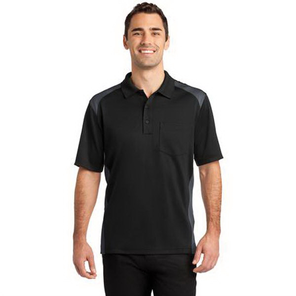 CornerStone(R) Select Snag-Proof Two Way Colorblock Polo