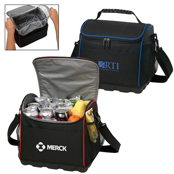 Imprinted 18 Can Tops Cooler Bag