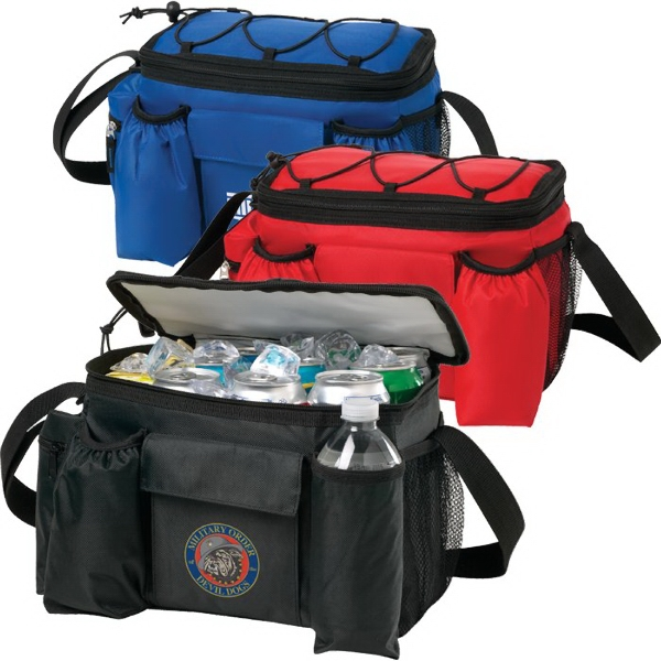 Imprinted 12 Can TackPack (TM) Cooler