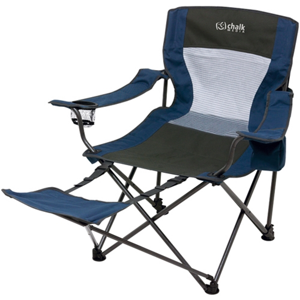 Custom Foldable Chair with Foot Rest