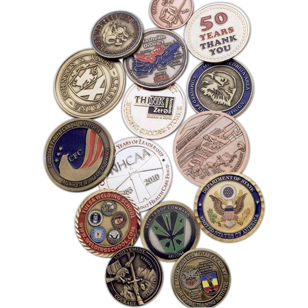 Imprinted Challenge Coin - Die Struck