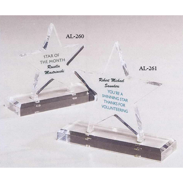 Customized Acrylic Star Award